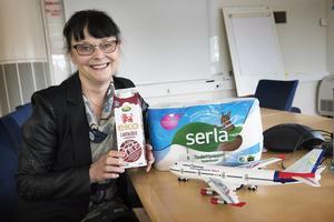 Arla och Serla använder sig redan av biobaserad plast i sina förpackningar, men är intresserade av att använda vår svenska råvara i stället för den brasilianska.