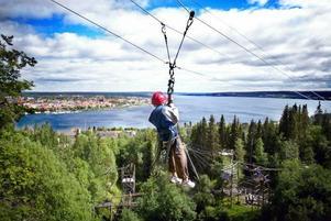 Äventyrsanläggningen på Östberget kommer att avvecklas.foto: robert henriksson