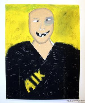 Tema huliganism. Illustration: Markus Steén Eriksson.