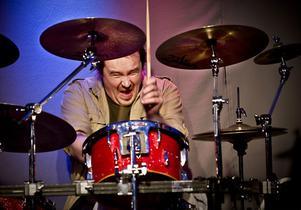 Frank Sandersson, trummis i bandet.