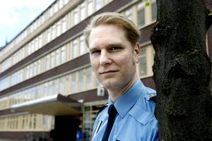 Josef Wiklund, polisområdeschef Medelpad.  Fotograf: Mårten Englin/Arkiv