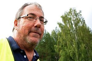 Jan Wahlstén, nöjd ordförande i Karlsro flyers.