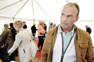 Projektchefen Peter Mild blickar framåt mot ännu fler nybyggen på Gävle strand. Efter Kobben kan det bli dags för Skärvet.