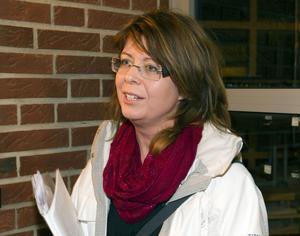 Annika Löfgren vill se en satsning på Milboskolan. Hon tyckte att politikerna presenterat ett förslag utan att berätta hur de tänkt för berörda.