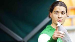 Asmir Suljicic klev in och stärkte upp Syrianska i matchen mot Sundbyberg.