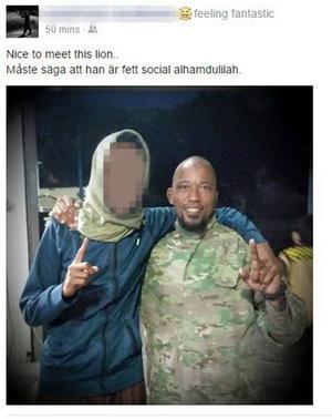 Ingen anade 25-åringens planer på att ansluta till IS när han var aktiv i borlängemoskén.