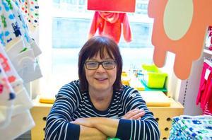 Margareta Eriksson, eller Mecka som alla kallar henne för, att ägt sitt företag i 26 år.