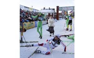 Grycksbos Daniel Tynell förlorade spurtstriden även i år men är ändå mycket nöjd med sin insats.Foto: staffan Björklund