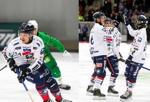 Martin Frid och Oskar Wikblad har förlängt sina avtal med Edsbyn.