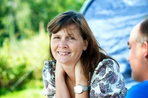Vattnäs har alltid varit Pers Anna Larssons fasta punkt i tillvaron. Nu får både hon och maken Göran Eliasson medalj.Foto:Kjell Jansson