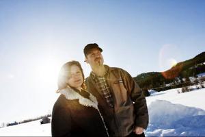 """Hammarstrandsduon Landstrom debuterar med """"In the bright daylight"""". En skiva inspelad i hemmastudion i Kullsta.Foto: Mattias Pettersson"""