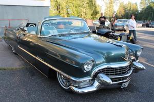 Cadillac Series 62 cabriolet från 1955. Jan Kamis bil stod i garaget när gamla Folkets park brann ned till grunden.