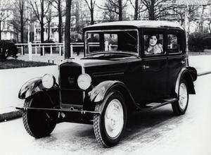 Peugeots allra första storsäljare, modell 201 från 1929. Foto: PSA