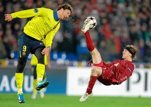 Ryska storlaget Rubin Kazan besegrade Zlatans Barcelona i höstas. Nu kan ÖSK möta de ryska mästarna under träningslägret i Spanien.