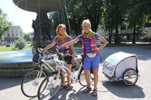 1 300 kilometer på elcykel under 58 dagar. Lägg till 60 intervjuer med hjältar mellan Ystad och Umeå. En hel del att göra för Anna och Karin Bengtsson.