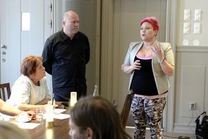 Krögare om restaurangskolan Altinskas framtid. Yrkesläraren Martin Eriksson och krögaren Malin Överby.