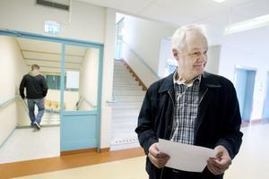 """INTE AVSKRÄCKT. Bert Källdén avskräcks inte från vaccinering. Han vet att vaccinet som ges nu inte är detsamma som gavs mot svininfluensan. """"Men jag tror att det här med narkolepsin gör att vissa drar sig för att vaccinera sig""""."""