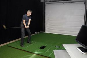 I Sören Valdhavs Golfhall kan även svinganalyser genomföras, allt tack vare den senaste tekniken.