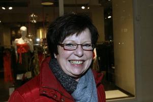 Annica Mårtenson, 60 år, skolassistent, Gävle.Man får se fram mot julafton och glädjen av att umgås med familjen.