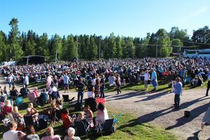 Sommarmusik i Galtström från ett tidigare år.