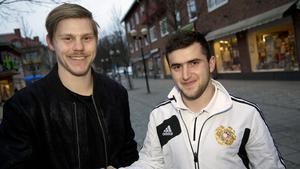 Claes Gustafsson och Tigran Grigoryan.