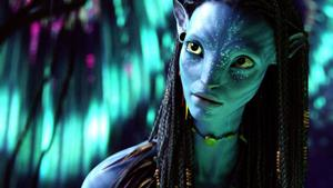 "Zoe Saldana i ""Avatar"" 2009. Foto: Courtesy Twentieth Century Fox"