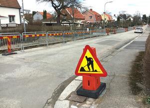 Mästargatan och andra gator på Kristiansborg ska få ny beläggning i år.