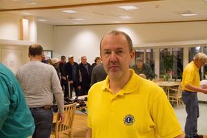 Tomas Karlsson är president i Lions International. Han hade inte räknat med att broddutdelningen så skulle bli en sån stor succé.