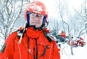 Fjällräddningssamordnare Peter Borg konstaterar att det är hög nivå på fjällräddarna i Härjedalen.