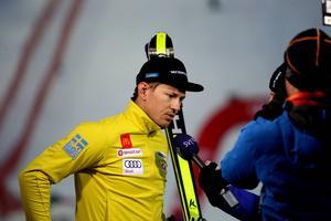 Efter att ha misslyckats med att ta sig till topp tio i fredagens storslalom hoppades André Myhrer på söndagens slalom. Dessvärre satt inte formen och han slutade på femtonde plats.