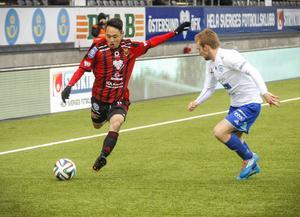 Succéliraren Seon–Min Moon hade inte spelat a-lagsfotboll innan han dök upp i Östersund. Dessförinnan hade han varit med i Nikes dokusåpa