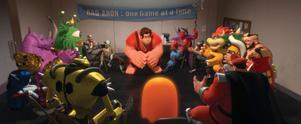 """I """"Röjar-Ralf"""" dyker gamla datorspelsfigurer upp, lagom till sportlovet."""