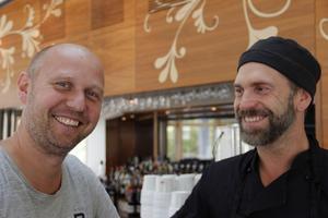 Daniel Carlsson och Björn Lindberg är två av fyra som blir delägare av nya burgarhaket som ska öppna i Söders Delis lokal.
