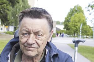 Ronald Berggren, 65 år, pensionär, Fagersta: – Vid Norra station, det är lagom långt bort.