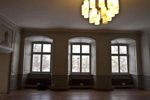 Gävles finaste kontorslokaler? Efter sommaren flyttar två reklamföretag in på ett av våningsplanen på Gävle slott.