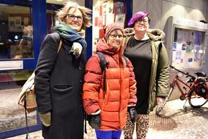 Ami Norén, Ingrid Bergelin och Karolina Treson var nöjda efteråt.