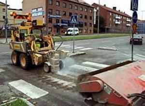 Arkivbild: Olle Hildingson Försvinner. Tekniska nämnden beslutade i går att 211  övergångsställen i kommunen ska tas bort