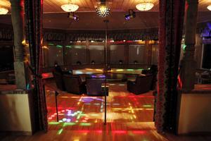 Strippklubben i Mörsil 2012.