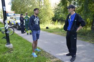 Kesir Sehzad och Roland Kostare slog larm om upptäckten.