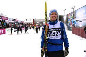 Jonas Ekblom har precis passerat mål.