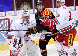 Anton Forsberg vaktade Modos mål mot Brynäs