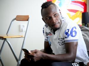 Samuel Mensiro, tidigare Mensah, har gott självförtroende, och ser fram emot säsongens sista match.