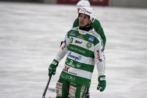 Ted Bergström stod för fem mål då VSK slog Hammarby med 8-4.