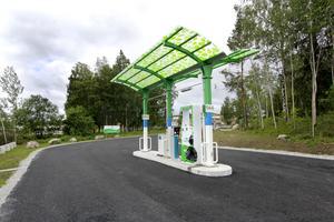 Vafab Miljös biogasstation i Fagersta. Den ligger vid Lövparksvägen, i närheten av VL:s anläggning.