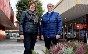 Ulla Berggren och Ellen Helmersson hoppas att årets upplaga av Tjejdagen ska resultera i nytt insamlingsrekord.