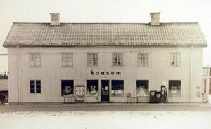 Landets äldsta Konsumbutik låg i Axmarby. Den är numera nedlagd.