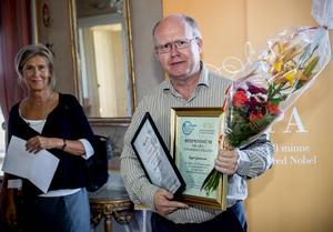 Roger Gustavsson, Örnsköldsvik, vann Skapa-stipendiet på residenset.