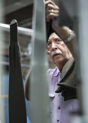 Leif har format mellan 7 486 500 och 10 695 000 stycken långkalsonger under sina 45 år på Woolpower.