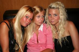 Pluto. Karin, Malin och Jessica