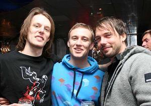 Silk. Steffan, Patrick och Eddie